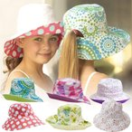 帽子 子供 キッズ 日よけ 女の子 UV ポニーテールハット 折りたたみ 帽子 つば広 春 夏 UVカット 日よけ帽子