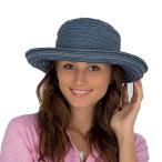 帽子 レディース ハット 春 夏 uv 折りたたみ つば広 ハット アウトドア 折り畳み 紫外線 UVカット 日よけ デニム SRL451
