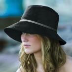 ショッピングuvカット つば広 帽子 UVカット レディース UV日よけ帽子 SRL50-BLACK