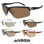 アディダス サングラス adidas adivista a164 メンズ スポーツサングラス 度付き 対応 ゴルフ ランニング テニス 自転車 登山