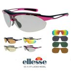 エレッセ サングラス レディース es-s107 [ 偏光 ミラー レンズ 4枚付属 ] 人気 ellesse スポーツサングラス 度付き 対応可 偏光 送料無料