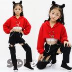 キッズ ヒップホップ 衣装  韓国 ダンス衣装 セットアップ   ダンス衣装 トップス  サルエルパンツ ジャズダンス衣装 長袖 HIPHOP ダンス衣装 ステージ衣装