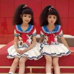 ダンス衣装 海軍風 ダンス 衣装 子供 女の子 ダンス衣装 セットアップ チュチュスカート ダンス 衣装 ガールズ キッズ チア チアガール ダンス衣装