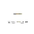 AUDIO-TECHNICA AT501CS 変換プラグ:ステレオミニ > ステレオフォン