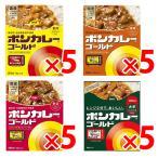 ボンカレーゴールド 甘口×5個 中辛×5個 辛口×5 大辛×5 合計20個セット 大塚食品