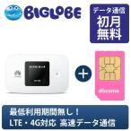 Mobile WiFi E5377 + Biglobeデータsimカード