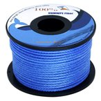 EMMAKITES 100%ダイニーマ 超高強度ポリエチレン繊維 1mm直径 31M 破断強度160kg