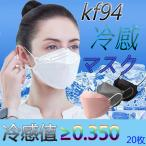 kf94マスク マスク 冷感マスク マスクkf94 血色マスク 夏用マスク 涼しいマスク 不織布マスク 冷感 マスク 大きめ 20枚入 不織布マスク カラー