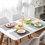 【4色セット】北欧風ランチョンマット ランチョンマット 汚れにくい 撥水性能抜群 プレースマット テーブルマット お得 まとめ買い 家庭 レストラン用 4枚入り