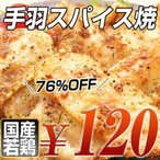 国産若鶏手羽スパイス焼き(から揚げ)(賞味期限2011年5月30日)