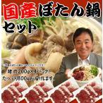 【送料無料】長崎ぼたん鍋セット・焼肉にも!(いのしし肉 猪肉スライス200g×4P)イノシシ鍋に!