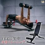 トレーニングベンチ 折りたたみ 3WAY 角度調整 腹筋 背筋 フラットベンチ インクラインベンチ フィットネスベンチ シットアップベンチ 筋トレ SR-AND005D-BK