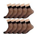 レディース くるぶし丈 ソックス 10足組 靴下 ショー