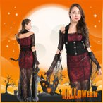 ショッピングハロウィン ハロウィン コスプレ 衣装 吸血鬼 バンパイア コスチューム チュールスカート 化粧パーティー 大人 女性用