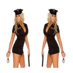 ショッピングハロウィン ハロウィン コスプレ コスチューム 送料無料cosplay 警察 刑事 女性用 セット  レディース 変装 仮装 大人用 学園祭 パーティー服 ダンス衣装