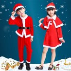 キッズ 子供用 サンタ衣装 コスプレ 仮装 クリスマス コスチューム サンタクロース 衣装 コスチューム サンタ服110~160 可愛い パーティー イベント