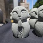 小さい かわいい 癒しのお地蔵さん おじぞうさん 置物 地蔵菩薩 御影石  送料無料!