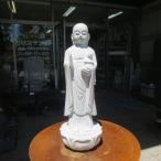 地蔵菩薩 F  御影石 石仏 地蔵  癒しのお地蔵さん 石の置物みかげ石  高級仕上げ 送料無料