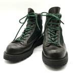 ◆Danner EXPLORER エクスプローラー トレッキングシューズ マウンテン ブーツ 30600X メンズ US7.5 25.5cm相当 ダークブラウン グリーン ダナー 靴 B0879