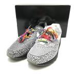 ◆キャッシュレス 還元対象 NIKE ナイキ 美品 AIR MAX 1 OA YT CI1505-001 スニーカー シューズ 総柄 箱付き メンズ 28.0cm ブラック ホワイト 靴 B1507