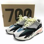 アディダス 新品同様 スニーカー イージーブースト700 B75571 メンズ 27.0cm グレー×ホワイト adidas 靴 B2724◆