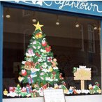 クリスマス  ウォールステッカー おしゃれ C08  クリスマスツリー 50×70 家庭店舗飾り 貼るだけ簡単 壁紙シット ウォールシール プレゼント飾り