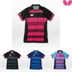 バタフライ BUTTERFLY エクストライプ・シャツ 45140 卓球ウエア ゲームシャツ 男女兼用 ユニフォーム 卓球