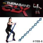 THERABAND CLX セラバンドCLX エクササイズ ループ バンド #TCB-4 エクストラヘビー ブルー
