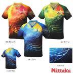 ニッタク Nittaku スカイメロディシャツ NW-2167 卓球ユニフォーム/ゲームシャツ 卓球用品【送料無料】
