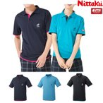 (NEW) ニッタク Nittaku レイヤーシャツ NW-2172 卓球 ユニフォーム 男女兼用 ゲームシャツ 卓球用品