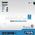 STIGA(スティガ) AIROC/エアロック M  卓球ラバー 裏ソフトラバー(ホールド系テンションラバー) 卓球用品[9611-1/9611-2/9612-1/9612-2] 【DM便利用可】