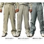 【激安】作業服 作業着 作業着 春夏自重堂(Jichodo)綿100%シーチング素材の涼しい作業服ツータックカーゴパンツ ズボン 94302