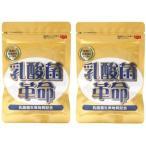 2袋セット 乳酸菌革命 330mg×62粒 健康いきいき倶楽部 有胞子性乳酸菌 送料無料
