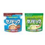 2袋セット セノビック ミルクココア味+抹茶ミルク味 280g ロート製薬 成長期応援飲料