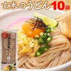 うどん 乾麺 グルテンフリー こまち麺 玄米 200g×10袋 20食 送料無料 アレルギー対応 無塩 稲庭うどん