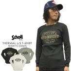 ショッピングschott Schott ショット サーマル・ロングスリーブ Tシャツ TEDDY'S GENTS