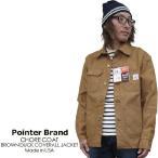 ジャケット メンズ/POINTER BRAND ポインターブランド ブラウンダック カバーオール ジャケット(米国製)