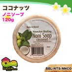 バブルシャックハワイ ノニソープ 120g ココナッツ オーガニック 石鹸 ポリフェノール ミント/BBL-NTS-NNCO