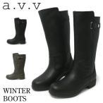 a.v.v ブーツ レディース 防水 軽量 防寒 ミッシェルクラン 8027