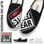 VISION スリッポン スニーカー レディース メンズ 靴 VSW-6154