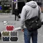 ショルダーバッグ ショルダーバック メンズ 高密度ナイロン風 ロゴプリント メッセンジャーバッグ Mサイズ/anello アネロ AT-B1621 正規品 ブランド