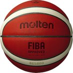 モルテン(molten) バスケットボール 6号球 (一般 大学 高校 中学校) 女子用 検定球 B6G5000 (レディース)