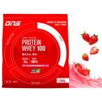 ディーエヌエス(DNS) プロテイン ホエイ100 いちごミルク風味 1050g 約30食入 (メンズ、レディース)