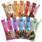 クエストニュートリション プロテインバーバラエティパックD 12個入り QUEST NUTRITION  QuestBar Protein Bar Variety Pack D 12 Bars