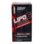 ニュートレックスリサーチ LIPO 6 Black UC E.U. 60液体カプセル Nutrex Research LIPO 6 Black UC E.U. 60 Liquid Capsules ※INTERNATIONAL EUROPEバージョン