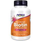 ビオチン 超高含有10mg(10000mcg) 120粒 NOW