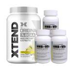 超お得セット [大容量約1.2kg]エクステンド(BCAA+Lグルタミン+シトルリン)パイナップル(1個)&HMB+VD3(3個)