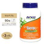 スリープ Sleep 90粒 バレリアン&ギャバ NOW Foods ナウフーズ
