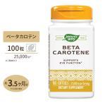 【最安値挑戦中★】Nature's Way ベータカロチン 25000IU 100粒 supplement