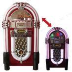 取寄品  コカ・コーラ ブランド ジュークボックス Hollywood/1CD/Radio/AUX in 家電 電化製品 CDプレーヤー プレイヤー
